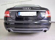 Audi A6 C6 4F Limousine Vorfacelift Diffusor mit Gitter Heckdiffusor S-Line