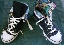 "Coach ""Bonney"" Tennis Shoes - Woman's Size 9 B (Medium) - Black High Top - Nice"