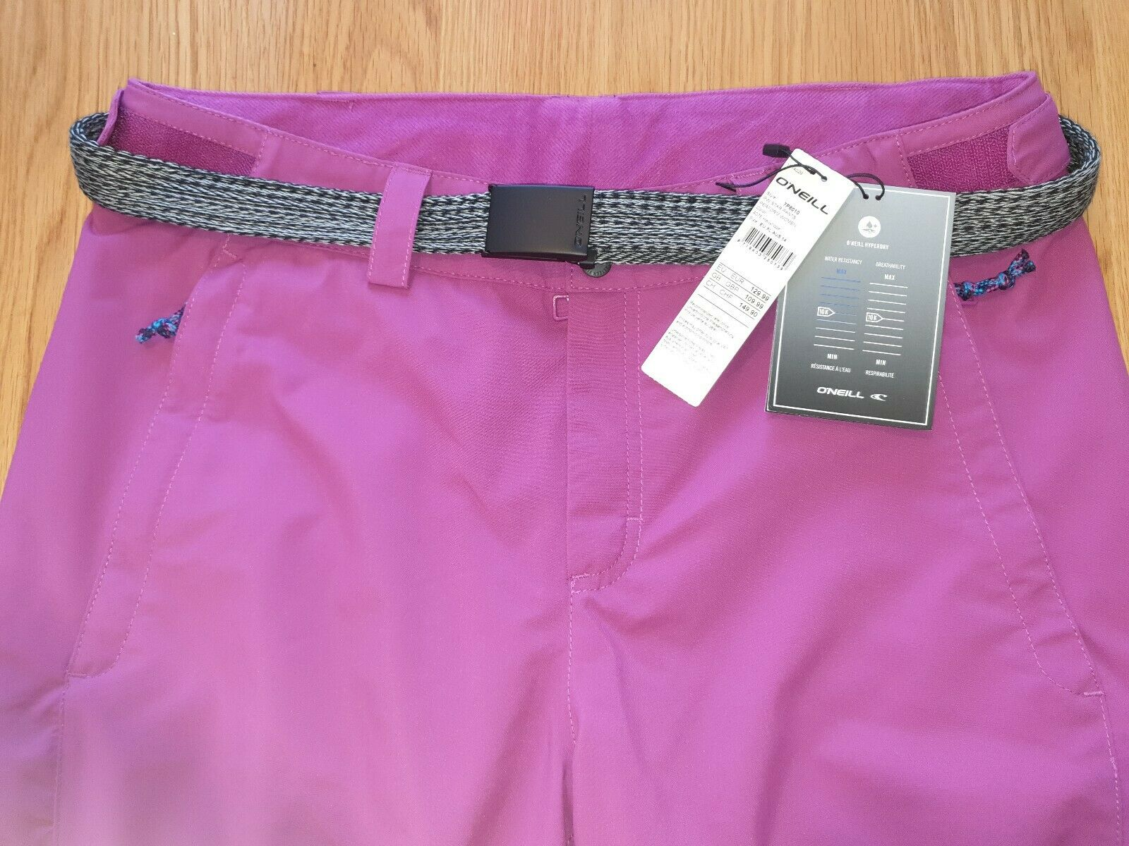 ONeill damen Star Ski   Snowboard Pants. Größe XL. Colour Hollyhook.