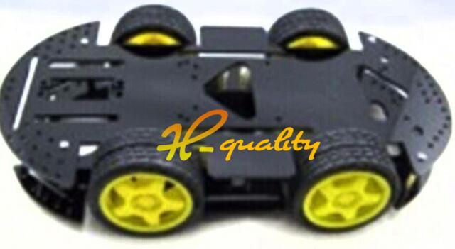 4 Wheel Drive Mobile Robot Platform Smart Car Chassis Arduino Compatible SCM MCU