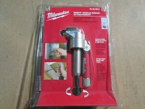 Milwaukee 49 22 8510 Right Angle Drill Attachment New In Package Ebay