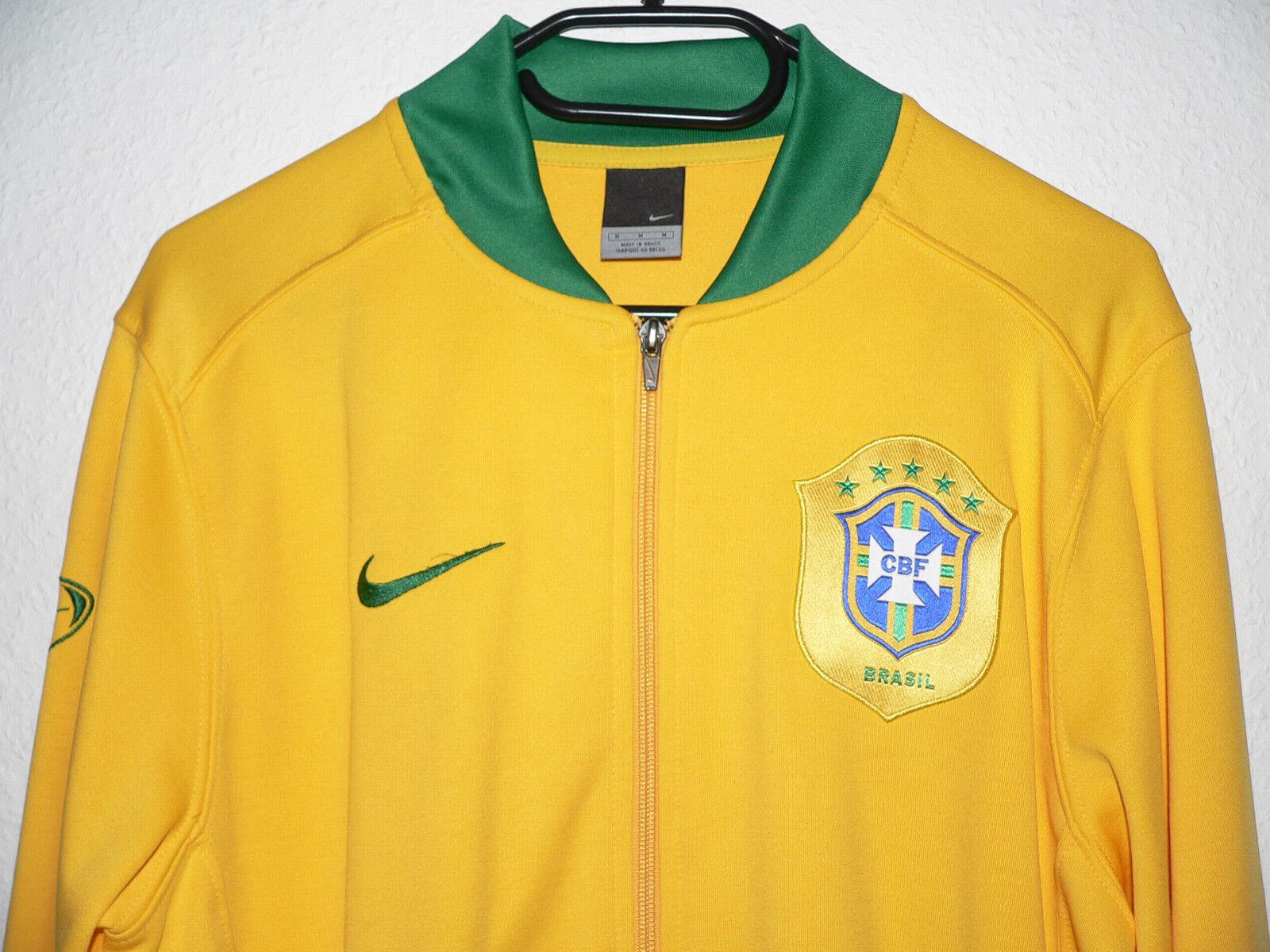 Nike Sweatshirt Jacke Jacket Blouson CBF Brasilien Brasil Brazil Brazil Brazil Trikot maillot c0f89e
