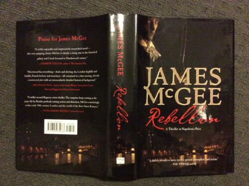 1 of 1 - REBELLION - James McGee (Hardback, 2014, Free Postage)