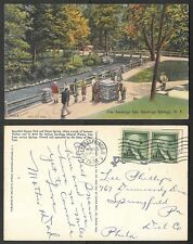 1955 Postcard - Saratoga Springs, New York - The Saratoga Spa