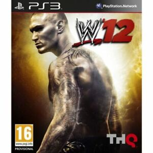 NEUF-SOUS-BLISTER-WWE-039-12-PS3-PlayStation-3