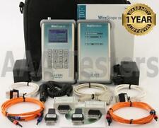 Agilent Wirescope 155 Cat5 Cat5e Multimode Fiber Certifier 850nm 1300nm