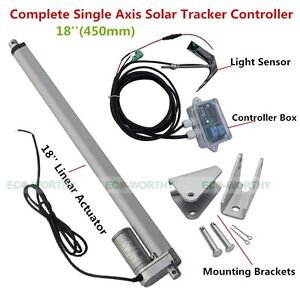 1KW-Solar-Tracking-System-Single-Axis-Solar-Tracker-amp-18-039-039-12V-Linear-Actuator