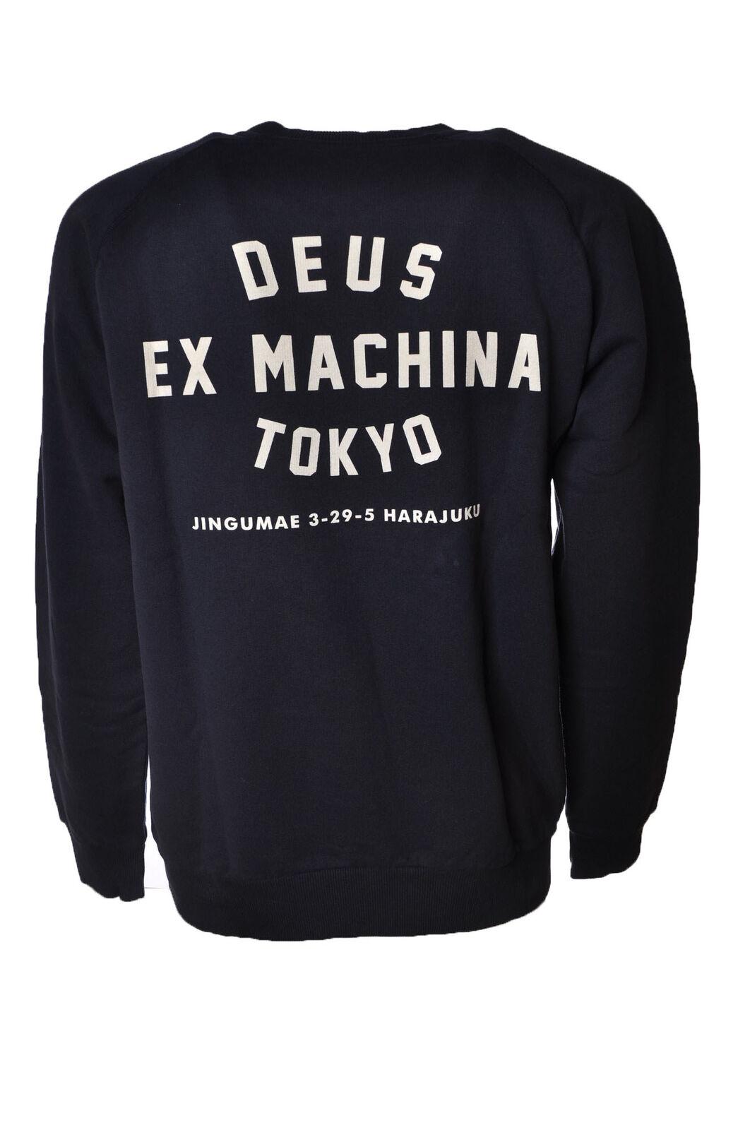 Deus  -  Sweatshirts - Männchen Männchen Männchen - Blau - 4395525A185344 54d314