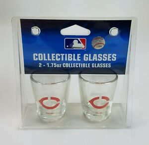 MLB-Minnesota-Twins-Shot-Glasses-1-75-ounces-by-Boelter-Brands-New