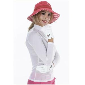 Golf-Gloves-Women-Rain-Pair-Pack-Pr-Small-Large-Medium-Left-Right-Hand-Pink-US