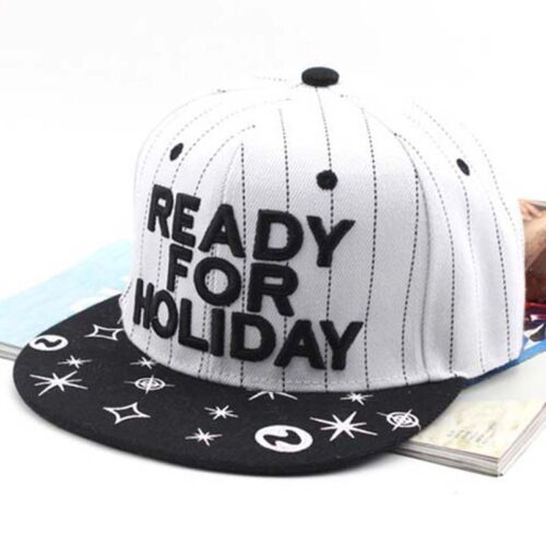 Unisex Men Women Baseball Bboy Cap Adjustable Snapback Holiday Sport Hip-Hop Hat