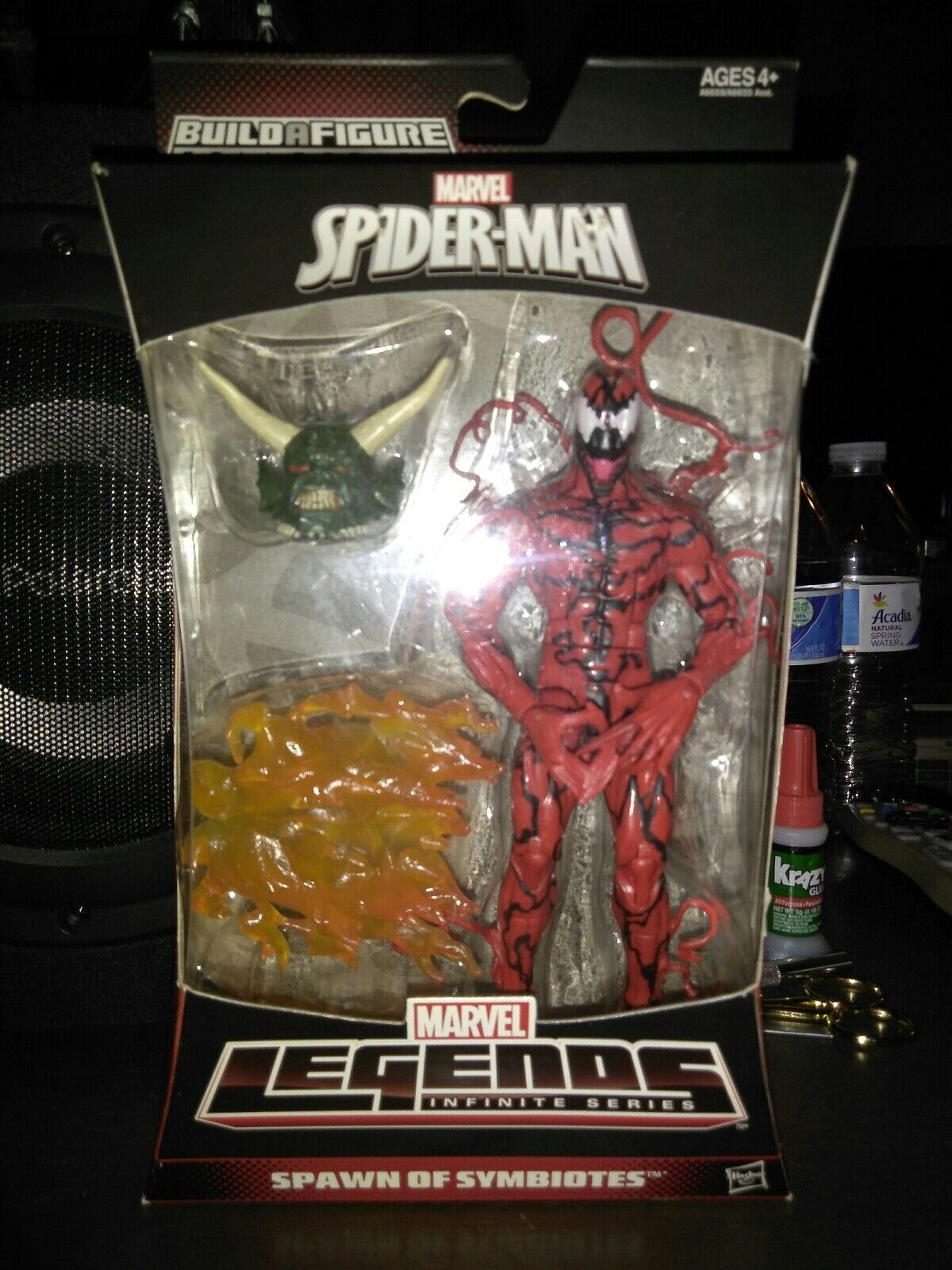 Carnage, Marvel Legends Infinite - Spawn Of Symbiotes - Spider-Man - Goblin BAF
