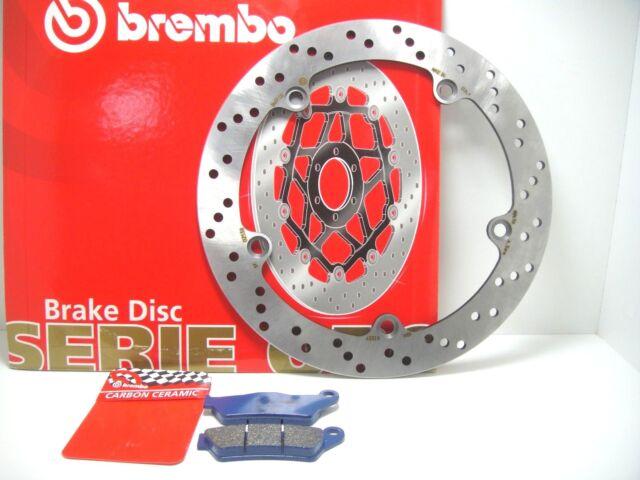 7C8 DISC REAR BRAKE BREMBO + PADS CARBON BMW R 850 RT 1997 1998