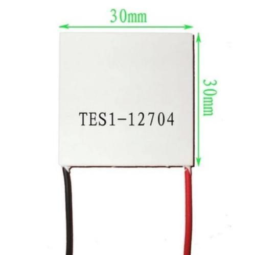 5Pcs Slim TES1-12704 12 V Dissipateur de chaleur Tec Thermoelectric Cooler Peltier 30mm*30mm