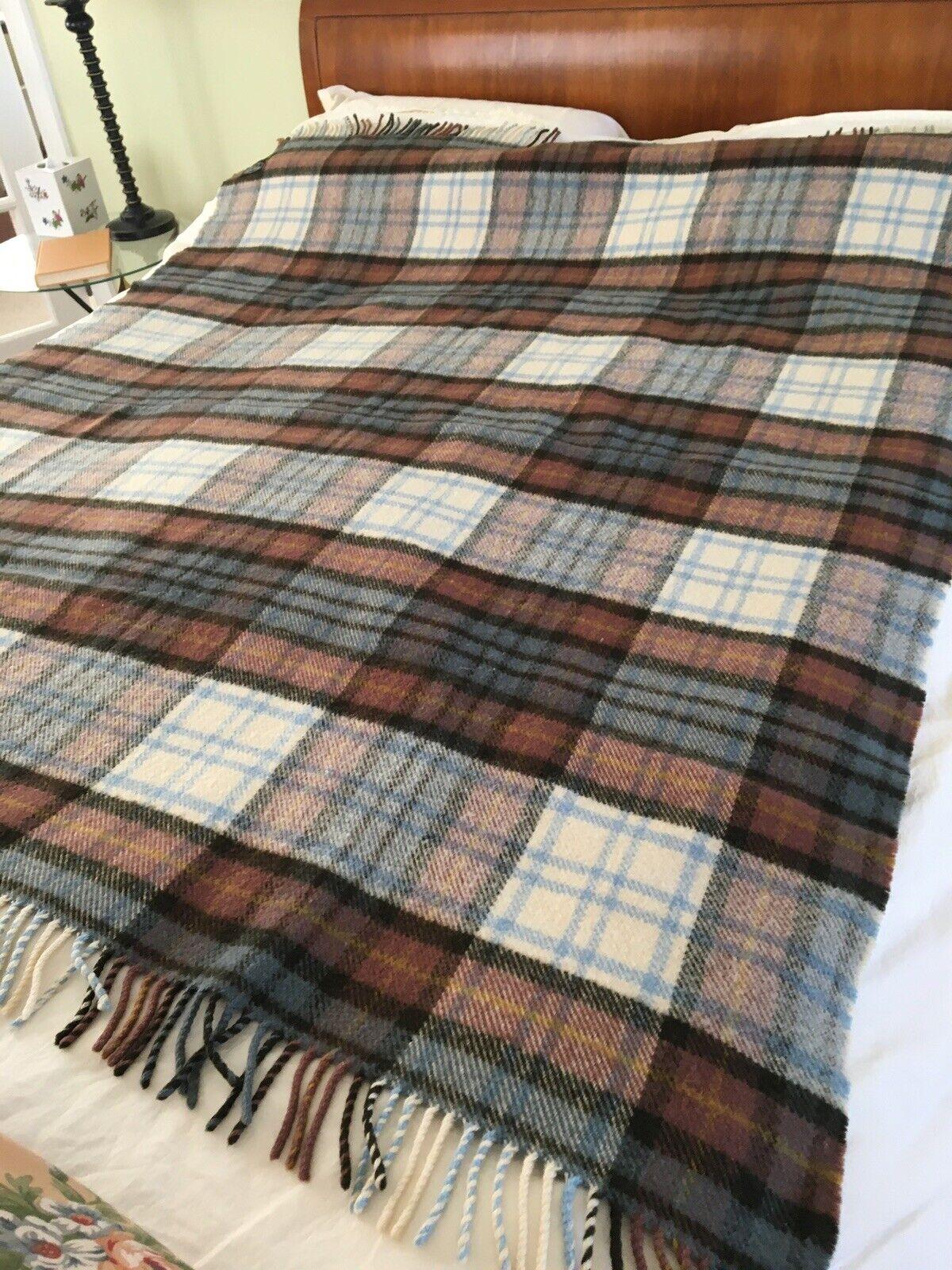 Plaid Quilt Tartan Quilt Tartan Blanket Plaid Blanket Plaid Throw Tartan Throw Made in Scotland Scottish Gift
