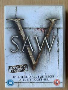 Saw-V-DVD-2008-Horror-Thriller-5-Film-Movie-with-Costas-Mandylor