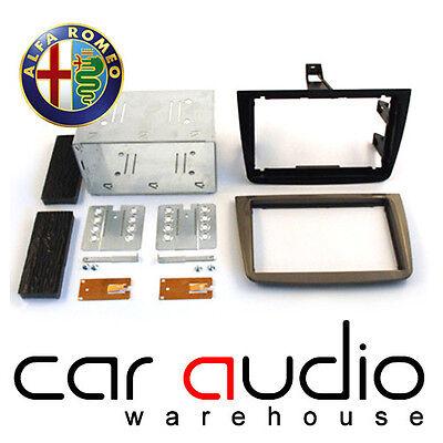 Connects2 CT23AR04 Alfa Romeo Mito 2008 Double Din Fascia Plates