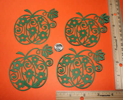 SKELETON LEAVES paper die cut embellishment *FreeShipPromo* card making scrap