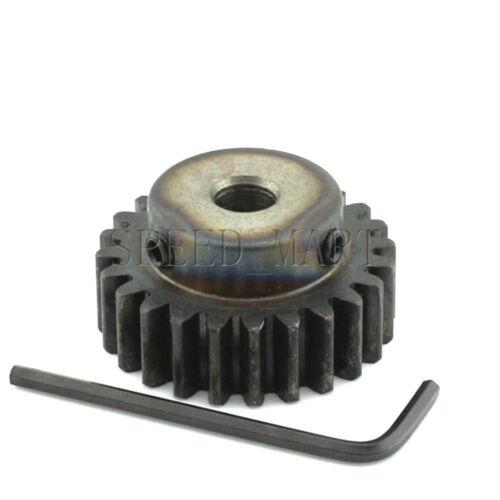 1.5M24T 12mm Bore Hole 24 Teeth Module 1.5 Motor Metal Gear Wheel Top Screw