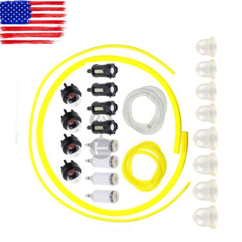 4 Sizes Tygon Fuel Filter Line Primer Bulb Kit For Poulan Weedeater  ET4UAMZ8883