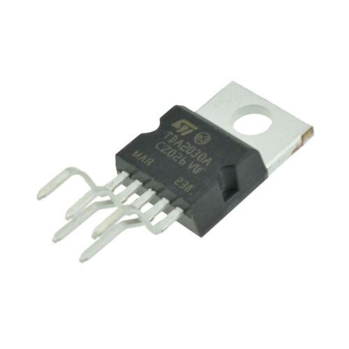 2PCS TDA2030A TDA2030 TO-220 18W Hi-Fi Amplifier 35W Low Power Driver IC