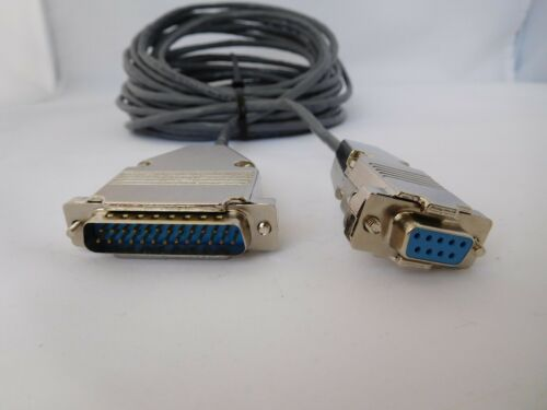 50 FT RS232 Cable DB9 Female to DB25 Male We Have For All CNC Brands CNC DNC