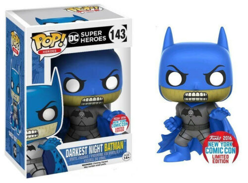 Darkest Night Batman NYCC 2016 Exclusive POP! Heroes #143 Vinyl Figur Funko