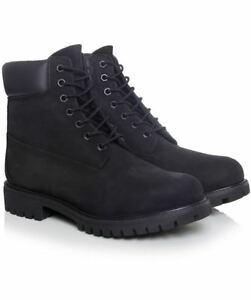 separation shoes 24ee3 f7942 Timberland Black C10073 Premium Tailles € 11 7 6in Rrp 170 F1JTlcK