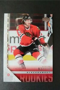 Duncan Keith Upper Deck Young Guns Rookie Card