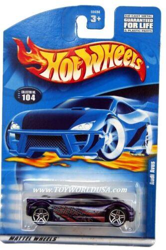 2001 Hot Wheels #104 Audi Avus