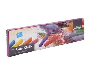CRELANDO PASTEL CHALKS 25 ARTISTS  WATER- SOLUBLE PASTELS