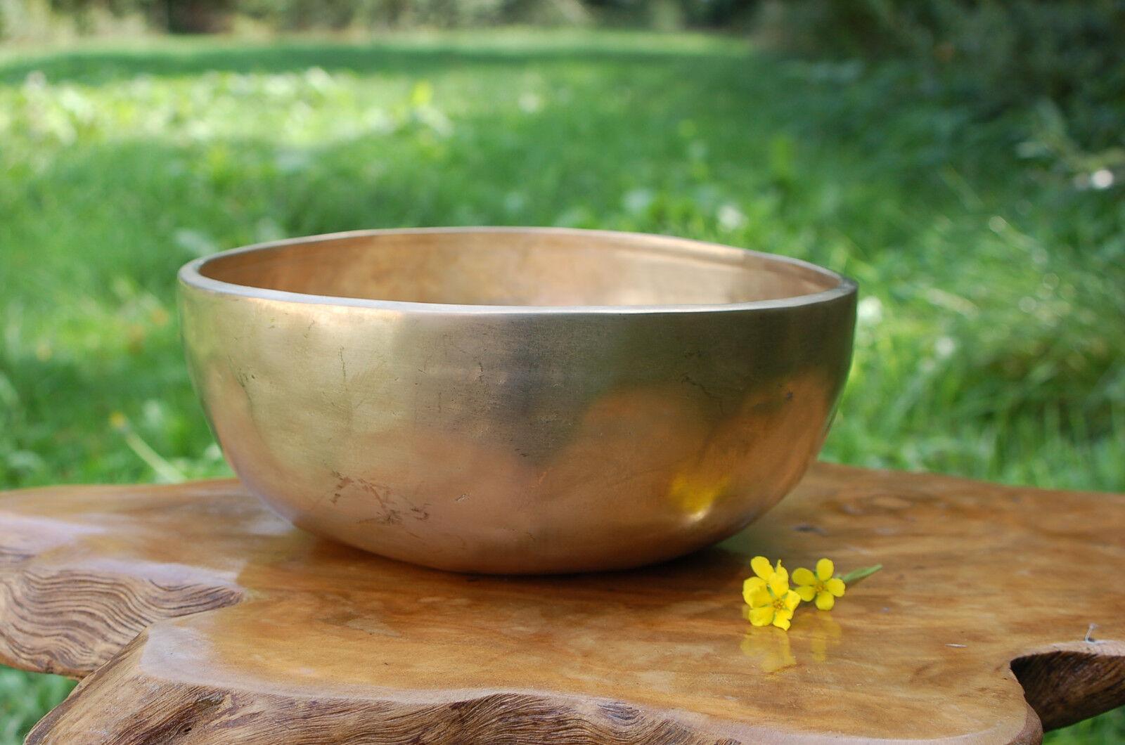 Klangschale 23cm 1630g Singing Bowl Nepal Chö Pa