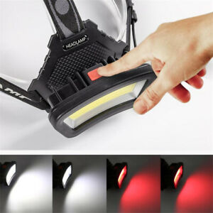 50000LM COB LED Headlamp USB Rechargeable Headlight Fishing Lamp Head Torch.