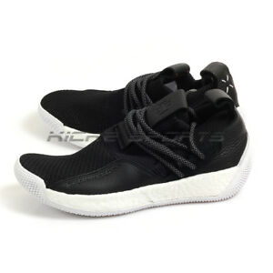9ff8b3a67c2 Adidas Harden LS 2 Lace Black White Lifestyle Basketball Shoes ...
