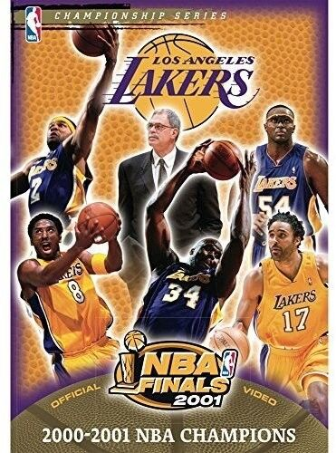 8449943fbf8 The Official 2001 NBA Championship  Los Angeles Lakers (DVD