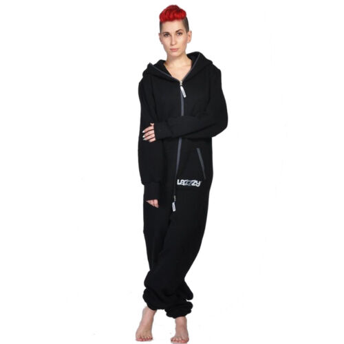 Lazzzy ® Black Jumpsuit Onesie Overall