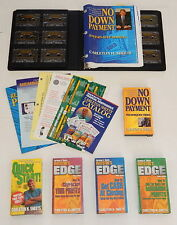 Carleton Sheets No Down Payment Real Estate Investing Course Books VHS Cassette