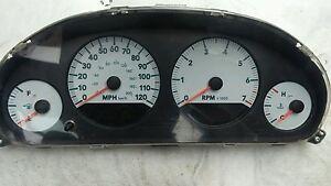 Image Is Loading 05 Oem Dodge Grand Caravan Odometer Sdometer Tachometer