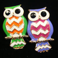 Owl Fashion Ring/adjustable/assorted Colors/ Buy 2 For 7.99