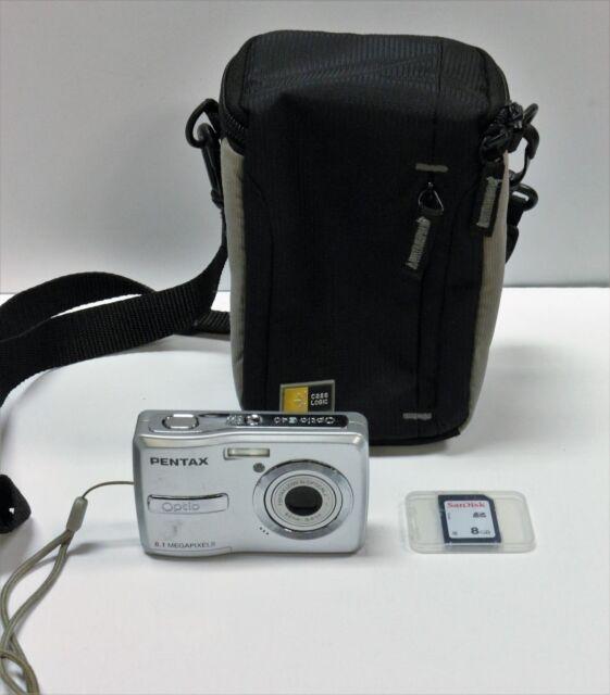 pentax pentax optio e40 8 1mp digital camera silver ebay rh ebay com Pentax Optio Digital Camera Sports Pentax Optio Digital Camera Review