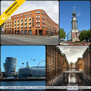 3 jours 2p 4 * h4 Hôtel Hambourg port dirigeants kiezjungs Escapade Hôtel coupon  </span>