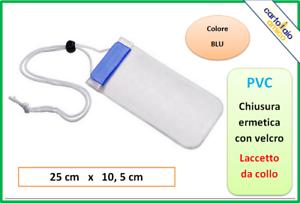 portacellulare porta cellulare smartphone telefono da per il collo viaggio pvc