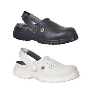 Safety Clogs Perforated Shoes