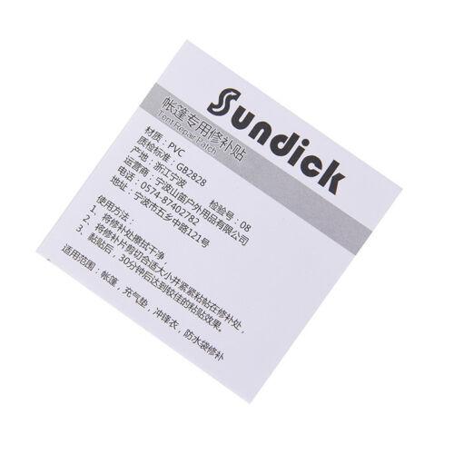 2x//lot Self Adhesive Nylon Sticker Cloth Patch Mending Down Jacket Tent Repair .