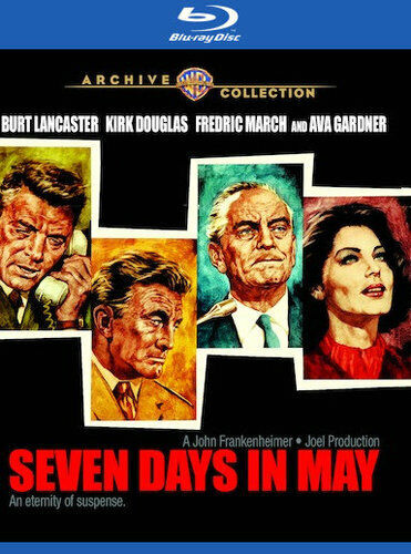 Seven Days in May BLU-RAY NEW