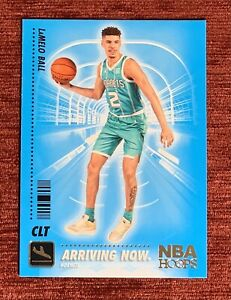 2020-21 NBA Hoops LaMELO BALL Rookie Arriving Now #SS-15 RC Charlotte Hornets🔥