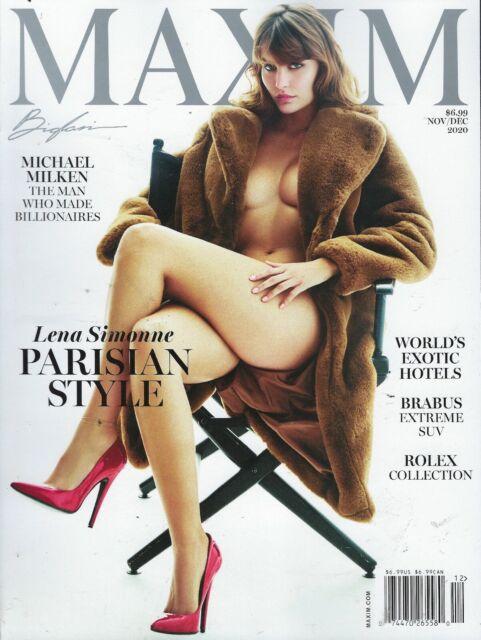 Collectible Maxim Magazine March 2013 Issue Elisha