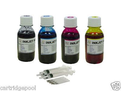 Refill ink kit for Epson 125 126 127 69 NX125 NX127 NX130 NX420 NX625 4x100ml
