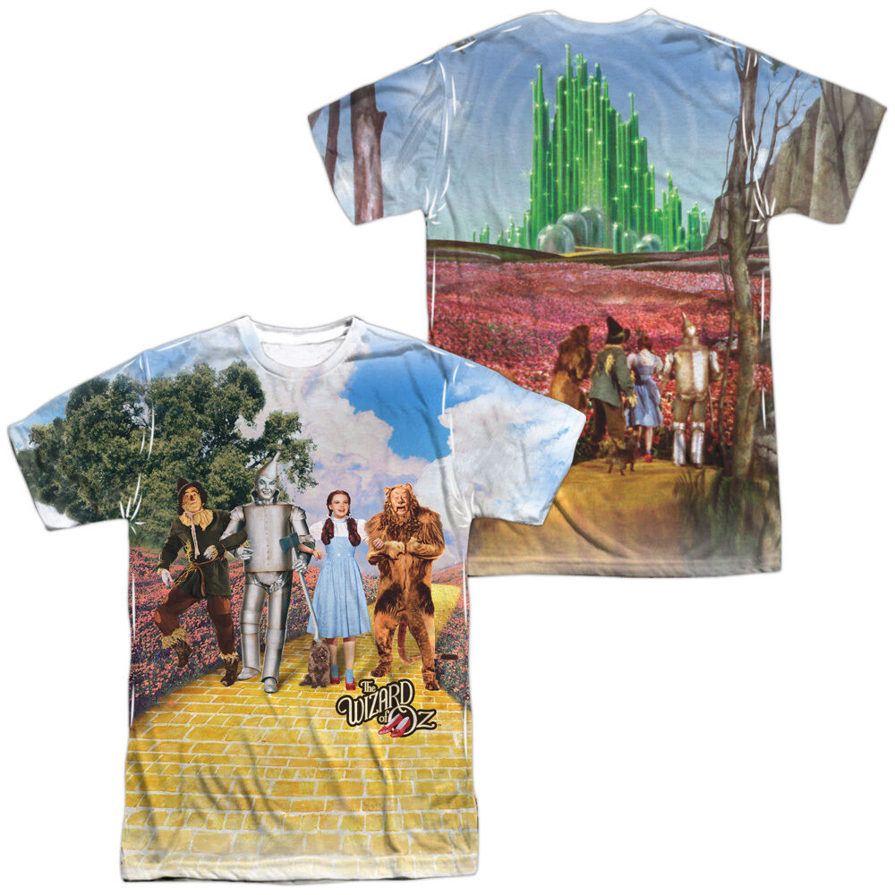 WIZARD OF OZ ON THE ROAD Sublimation Licensed Men's Tee Shirt SM-3XL