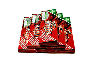 Juicy Jay's Strawberry flavored rolling papers 1 1/4 Size 6 Packs 32 ea bundle
